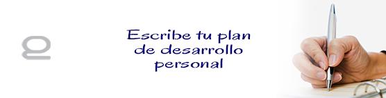 Como escribir un plan de desarrollo personal